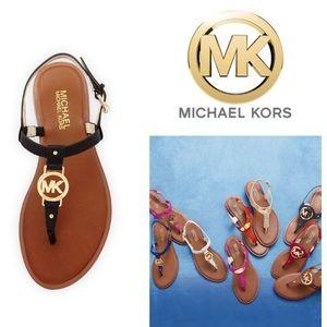 LIKE NEW!  MK Michael Kors Sondra thong sandal 9.5